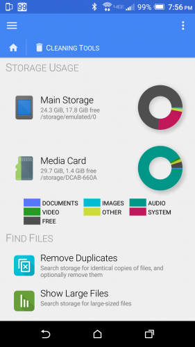 FX File Explorer Cleaning