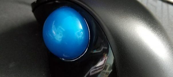 elecom-trackball-mouse-blue-logitech-ball