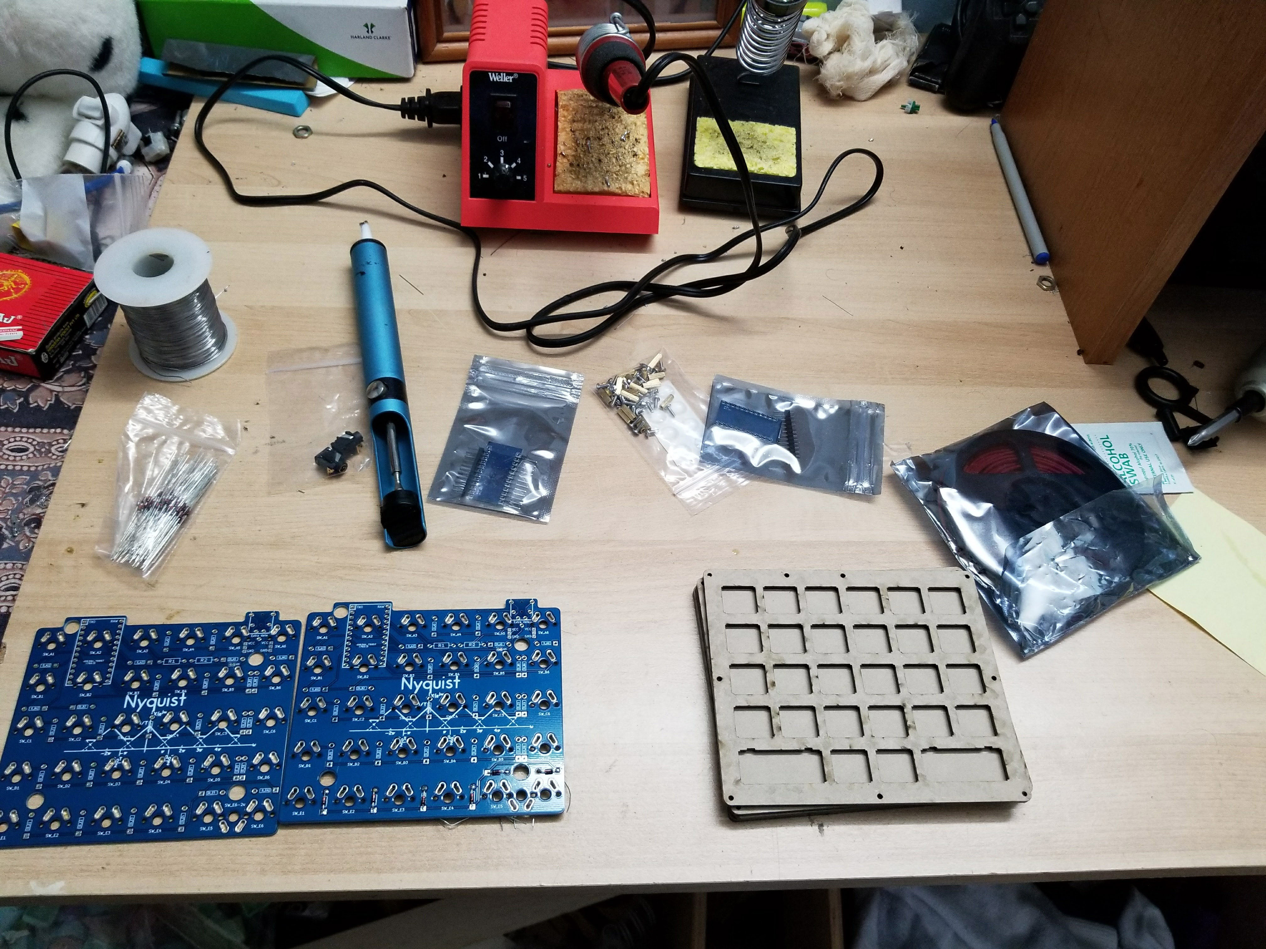 Nyquist-Keyboard-Parts