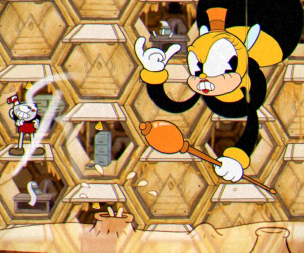 Cuphead-Bee-Boss-1